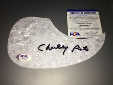 Charley Pride Signed Acoustic Pickguard Country Music Legend Beckett #2