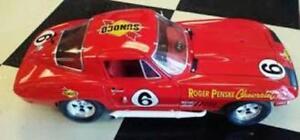 #6 Roger Penske Chevrolet Sunoco Corvette 1967  1/43rd Scale Slot Car Decals