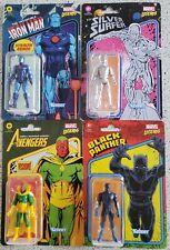 Marvel Legends Retro SILVER SURFER Black Panther Stealth Armor Iron Man Vision