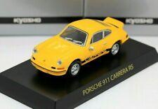 Kyosho 1/64 Porsche Collection 1 Porsche 911 Carrera RS 1972 Yellow