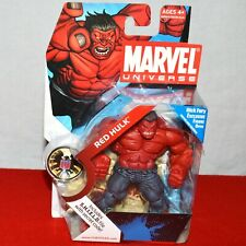 """Marvel Universe Red Hulk 3.75"""" #028 Series 1 Classic Action Figure 2008 New"""