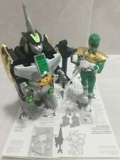 GREEN RANGER & DRAGONZORD - GUN, DRAGON DAGGER, INSTRUCTIONS. 1993 POWER RANGERS