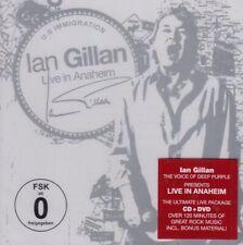 Ian Gillan (Deep Purple) /Live in Anaheim (CD + DVD, NEW!Original verschweißt)