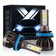AUXITO H11 H8 H9 6000K LED Headlight Kit Light Bulb High Low Beam White 9000LM