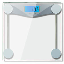 Etekcity Digital Bathroom Body Weight Scale, Tempered glass, 400lb/180kg