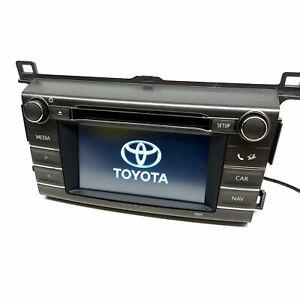 Toyota RAV-4 RAV4 Radio Stereo CD Player Head Unit Touch Screen 86140-42210