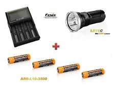 Fenix LD75 C + 4 Fenix ARB-L2S Akku´s + Nitecore D4 Ladegerät Neu OVP