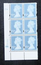 GB STAMPS :: MACHIN Y1749 :: £5 x 6 :: DE LA RUE CYL BLOCK :: PLATE D1dot
