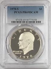 1978 S Eisenhower Ike Clad Dollar PCGS PR69DCAM
