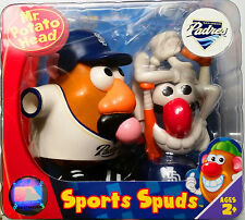 San Diego Padres MLB Mr Potato Head Licensed Character New in Box 00236