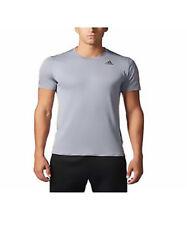 adidas Men's Climalite Energy Running Nova Training Short Sleeve Tee /2Xl/ Grey