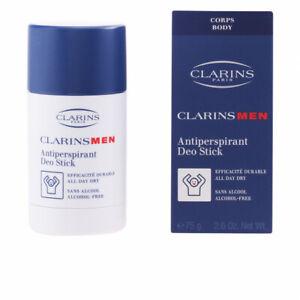 Clarins Men Antiperspirant Stick 2.6 oz Alcohol Free New in Box