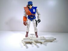C.O.P.S. and Crooks Series 1 Sgt Mace Action Figure incomplete Hasbro 1988