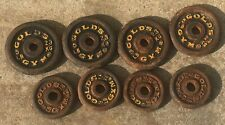 Vintage GOLDS GYM  Weights FOUR 5lb. FOUR 3lb. Total 32lbs.