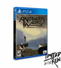 Another World 20th Anniversary Edition - Playstation 4 - Limited Run Games #180