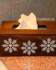 Wooden Kleenex Box Cover Wood Tissue Crafts