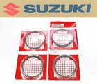 Suzuki 4x Piston Rings Ring Kit Set 01-04 GSX-R1000 GSXR 1000 (See Notes) #R129