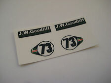 Corgi Juniors  21-C - B.V.R.T Vita Mini Cooper Stickers - B2G1F
