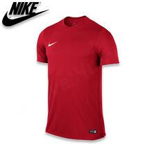 Nike Park VI camiseta de Fútbol manga corta para hombre entrenamiento Gym S-xxl rojo m