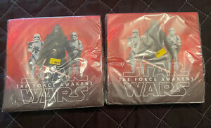 TWO Packages Star Wars: The Force Awakens Luncheon Napkins 16ct each/32 total