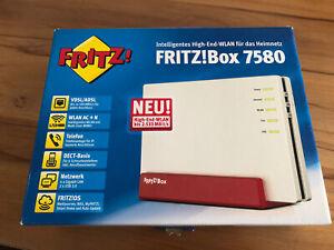 AVM FritzBox 7580, mit Restgarantie, in OVP, DSL-Router