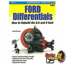 HOW TO REBUILD FORD 8.8 & 9 INCH DIFFERENTIALS RACE CAR DRAG CAR SA249