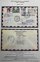 1967 St Denis Reunion First Flight Cover FFC To Shannon Ireland Air France