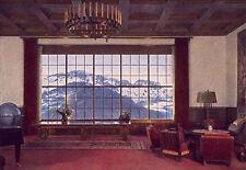 WW2 - Photo de la vue depuis le salon d'Hitler au Berghof