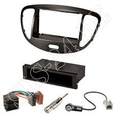 Hyundai i10 a partir de 2008 doble 2-din radio diafragma + adaptador ISO + antena conector set