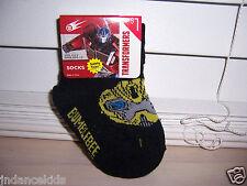 Transformers BUMBLEBEE Black Little Kids Socks 4-5.5 Boy  Girl (Shoe Size 1-5)