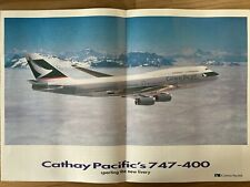 CATHAY PACIFIC AIRWAYS DISCOVERER INFLIGHT MAGAZINE 1995 B747