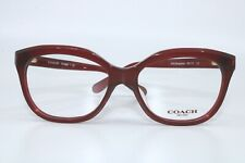 Coach HC6096F 5029 BURGUNDY Eyeglasses New Authentic 53