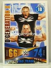 Slam Attax Rivals - #187 D-Generation X