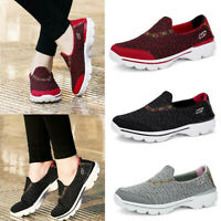 US Women's Casual Wedge Shake Shoes Sport Breathable Platform Outdoor Sneakers