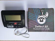UnwantedIncoming Call Blocker Telephone Defence Blocking w/LCD 1000 Blacklist
