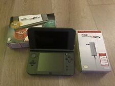 Nintendo New 3DS XL Black Handheld System Firmware 9.2 USA