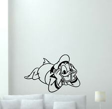 Donald Duck Wall Decal Disney Cartoon Vinyl Sticker Art Kids Decor Poster 202zzz