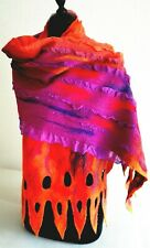 Delicate Exquisite wool silk Stole Wrap Shawl Scarf Bridal Special occasion
