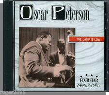 Oscar Peterson - The Lamp Is Low (1994) - New Four Star Jazz Music CD!