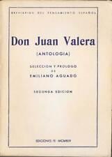Don Juan Valera (antología) - Emiliano Aguado