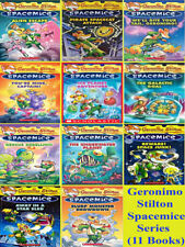 Geronimo Stilton Spacemice Series Books Set Collection - Brand New 11 Books Set