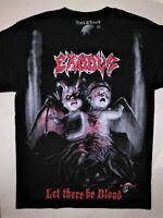 EXODUS T-Shirt RARE Embroidered Logo Overkill Testament Destruction Kreator Dark