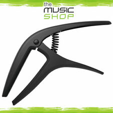 New Ernie Ball Axis Black Trigger Guitar Capo - Acoustic or Electric - 9600