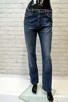Jeans Donna DOLCE & GABBANA Taglia Size 40 Pants Woman Pantalone Blu Cotone