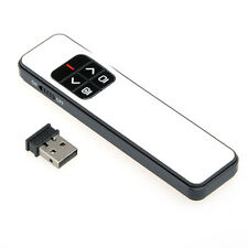 Wireless Remote Laser Pointer Power Point Presentation Conference / USB Receiver