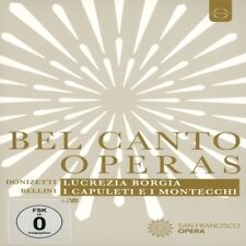 Renee Fleming - Belcanto Operas - San Francisco Opera [New DVD]