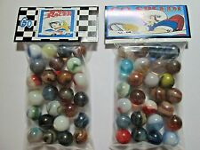2 BAGS OF SPEED RACER JAPANESE CARTOON PROMO MARBLES