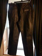 Harley Davidson womens 4 pocket leather motorcycle riding pants size 16