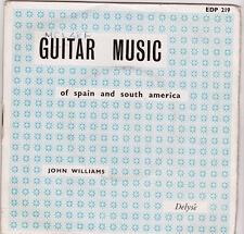 """John Williams Guitar Music Of Spain & South America UK 45 7"""" EP 4 tracks"""