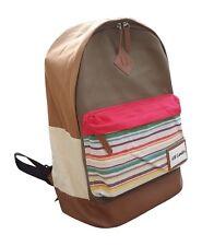 """AM Landen® Light Weight Canvas Backpacks,14"""" Laptop Bags(Khaki)"""